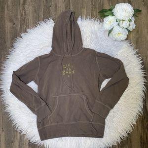 • Life Is Good Pullover Hoodie Sweatshirt •